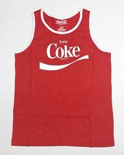 8caa6d008f17c Enjoy Coke - Coca Cola - Men s Medium Red Tank Top Sleeveless T-Shirt