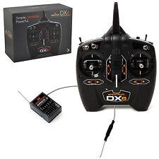 SPEKTRUM DXE 6CH 2.4GHZ DSMX RC AIRPLANE / HELI TRANSMITTER W/ AR610 RX SPM1000