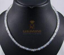 Mondstein Kette - Regenbogen-Mondstein Rondelle Halskette für Damen