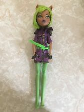 "Monster High 11"" Doll CLAWDEEN WOLF WEREWOLF DAWN OF THE DANCE GREEN"