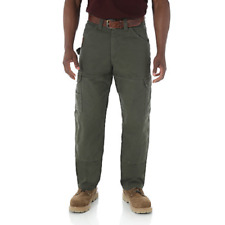 WRANGLER Riggs Workwear Ripstop Ranger Loden Cargo Pants Men's 38x30 3WO60LD
