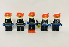 Lego Ice Planet Blonde Guy Chief Vintage Space Minifigures Lot X 5