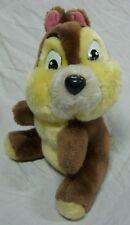 "VINTAGE Walt Disney World Chip and Dale CHIP CHIPMUNK 8"" Plush Stuffed Animal"