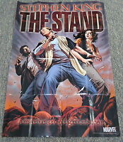 2009 Marvel SS promo poster ~ STEPHEN KING THE STAND