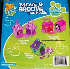 Zhu Zhu Pets Puppies Move / Groove Puppy Dog House Play Set Travel CARRIER NEW