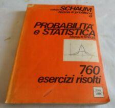 Probabilità e Statistica Schaum