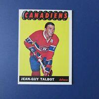 JEAN-GUY TALBOT  1965-66 Topps  # 4  Montreal Canadiens  1965 1966  65-66   NrMT