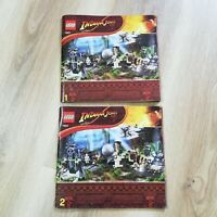LEGO - INSTRUCTIONS BOOKLET ONLY - INDIANA JONES Temple Escape - 7623
