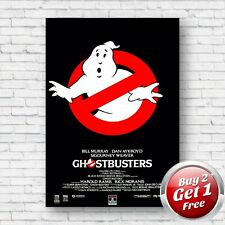 "Ghostbusters 1984 Film Movie Poster 13"" x 19"" Un-Framed Art Print V2"