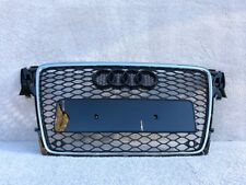AUDI A4 S4 RS4 2008-2011 FRONT BUMPER GRILL FRONT GRILL RS STYLE [B8RS4-4]