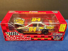 1:24 Bill Elliot McDonalds Racing Champions Gold Car-Mac Tonight