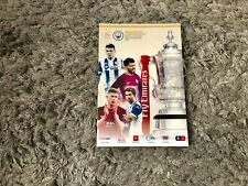 Wigan Athletic v Manchester City. FA Cup. February 2018. Match Programme. Mint!!