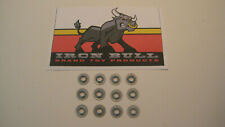 "Tonka flat style round 3/16"" axle retainers 1 dozen - toy parts"