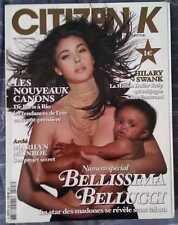 CITIZEN K French Magazine Monica Bellucci Hilary Swank Abba