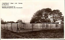 Portsmouth Steel Co. Flextella Chain Link Fencing for Dog Runs.