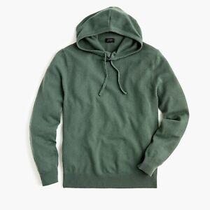 J Crew Everyday Cashmere Sweater Hoodie - Men's Medium ~ $168.00 J6378