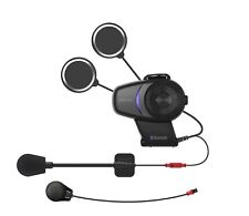 SENA 10S Bluetooth Headset/Intercom for Scooter/Motorcycle Helmets (10S-01)