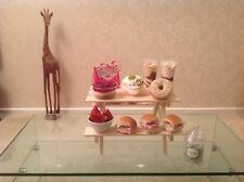 Mini Picnic Table Bench Afternoon Tea Cream Tea Cake Display Cup Cake