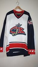 Columbus Blue Jackets TEAM ISSUED NHL Home Jersey (Blank) - RARE - Perfect Gift!