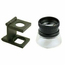 10X Folding Magnifier,10X Magnifier Magnifying Glass Kit