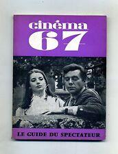CINÈMA 67#Le Guide du Spectateur N. 117 Juin 1967 #F.F.C.C.