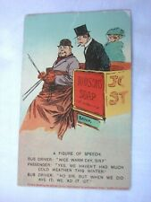 More details for antique advert postcard - by bamforth - holmfirth series - judson's soap.