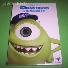 MONSTRUOS UNIVERSITY DISNEY PIXAR DVD NUEVO Y PRECINTADO SLIPCOVER