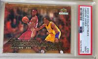 POP 33! 2003 UD Collectibles Lebron James rookie Kobe Freshman Season PSA 9 RC