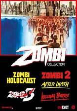 ZOMBI COLLECTION  5 DVD  COFANETTO  HORROR