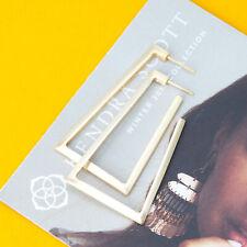 Kendra Scott Easton Hoop Earrings In Gold NEW