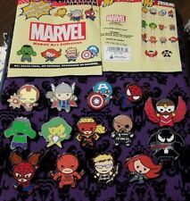 Disney Pins Marvel Kawaii Art COMPLETE SET of 14 AUTHENTIC  FREE SHIPPING