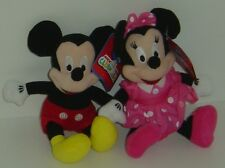 Disney - MICKEY & MINNIE MOUSE Soft Toy/Doll BNWT 22cm