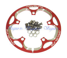 NEW DRIVELINE CRANK CHAINRING CHAIN GUARD BCD130MM 50T, RED