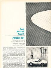 1964 Porsche 904 Road Report - Original Car Print Article J243