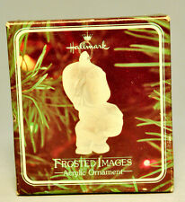 Hallmark: Frosted Images - Acrylic  - Classic Holiday Ornament
