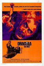 16mm DRACULA A.D. 1972 (1972).  Color HAMMER horror feature film!