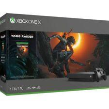 Microsoft Xbox One Tomb Raider Bundle 1TB Schwarz Spielekonsole