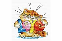 Cross Stitch Kit Will send you love M-037