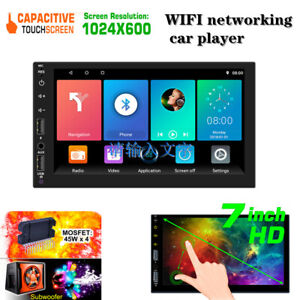 Android 9.1 Digital Capacitive Touch Screen WIFI Networking Car Bluetooth Player