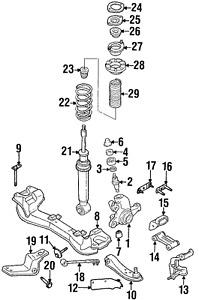 Genuine Nissan King Pin 40022-60U05