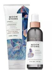 Bath and Body Works Moonstone Body Cream + Fine Fragrance Mist Duo Set