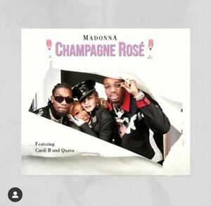 Champagne Ros (CD Single) Madonna feat. Quavo y Card B