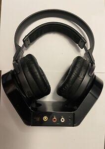 Sony Wireless Headphones & Transmitter TMR-RF970R With Audio Cords