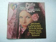 GEOFF LOVE & HIS ORCHESTRA LATIN WITH LOVE  RARE LP RECORD 1973 INDIA INDIAN vg