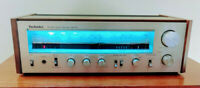 Technics SA-202 AM/FM Receiver, all new display LED's, cleaned & working