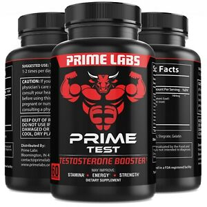 #1-Testosterone Booster Stronger than Granite  Natural Test Boost 60 Capsules