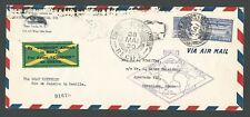 1930 GRAF ZEPPELIN Condor BRAZIL cover with 20000 Rs stamp - Recife to Seville
