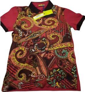 Versace men's polo clothing