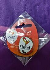 Rio 2016 Paralympic Games Logo Pin Badge