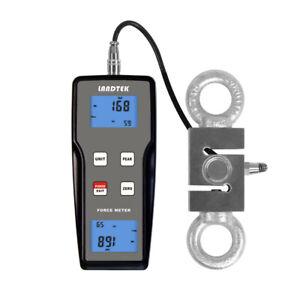 H●LANDTEK FM-204 Split Digital Push Pull Force Gauge Tester Meter External Senso